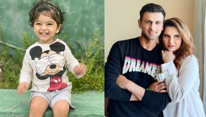 Sania Mirza's Son, Izhaan Reunites With 'Baba', Shoaib Malik, Roams In Dubai Holding Parents' Hands