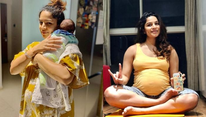 Shikha Singh's Little Munchkin, Alayna Is Surprised That She Was In Mommy's Tummy, Looks Supercute