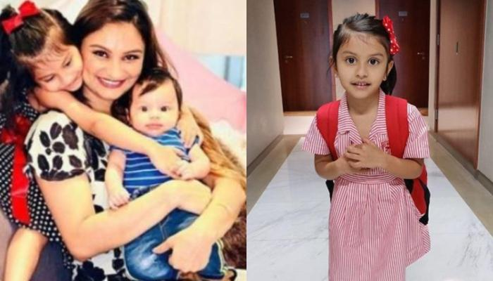 Dimpy Ganguly's Baby Girl, Reanna Is Excited To Go To School, Mommy Shares An Endearing Glimpse