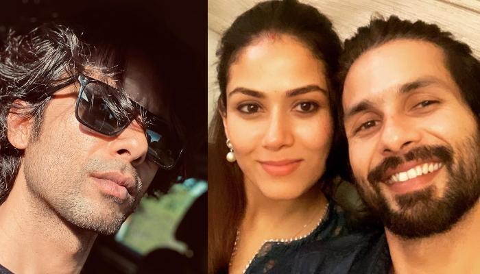 Mira Rajput Kapoor Shares A Mushy Picture With Shahid Kapoor As He Flaunts His New Look