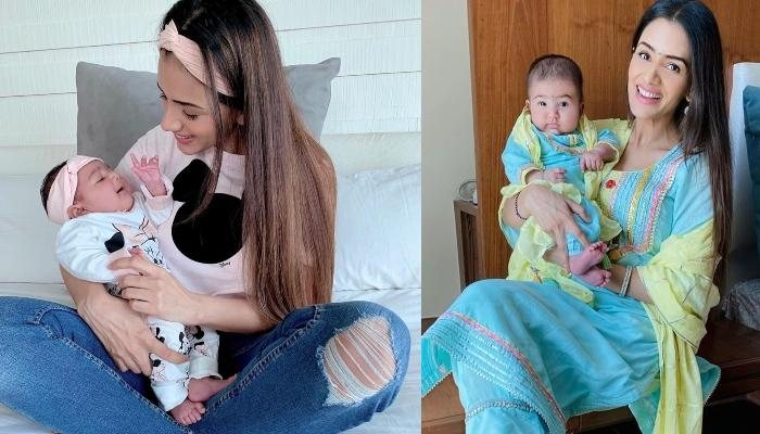 Smriti Khanna Shares A Glimpse Of Her Daughter, Anyaka's Cuteness, Looks Super Adorable In A Onesie