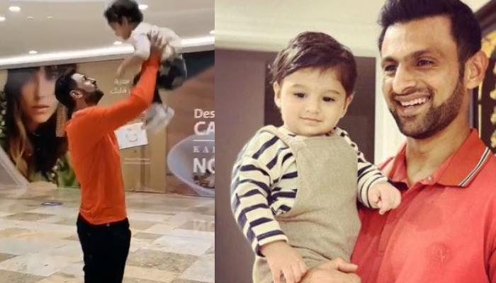 Shoaib Malik Is Overwhelmed To See Son, Izhaan Mirza Malik, Thanks His Munchkin For The 'Best Title'