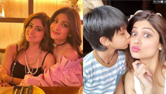 Shilpa Shetty Kundra Misses Her Sister Shamita Shetty, Her Son Viaan Talks To 'Masi' Over Video Call