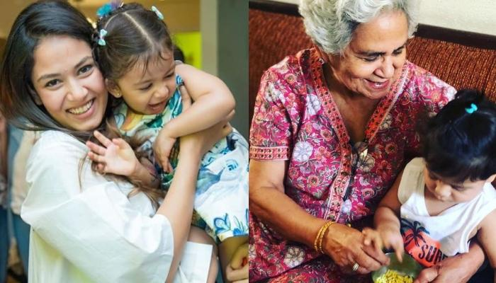 Mira Kapoor Gives Glimpse Of Priceless Moment As Misha And Zain Hear Stories From Great-Grandmother