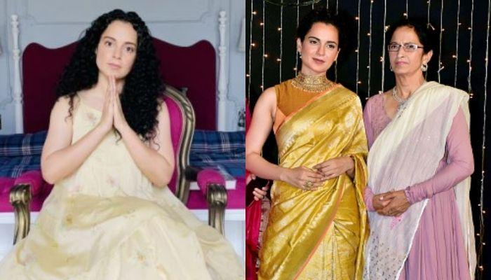 Kangana Ranaut's Mother Thanked Home Minister, Amit Shah For Providing Security To Her Daughter