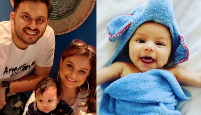 Dimpy Ganguly Turns Her Son, Aryaan Roy Into A Tiger Cub As He Turns 5-Month-Old [Photo Inside]