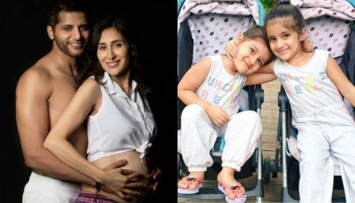 Karanvir And Teejay's Daughters, Bella-Vienna Start Preparing To Be Elder Sisters, Pictures Inside