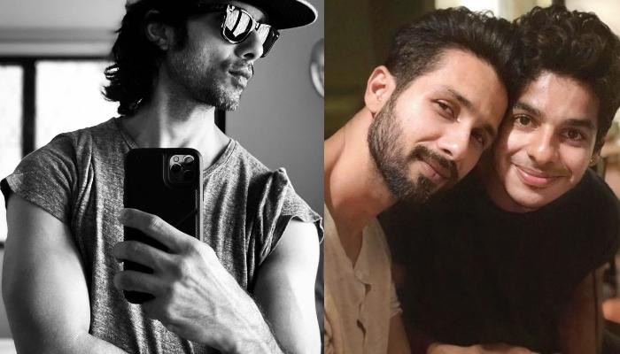 Shahid Kapoor And Ishaan Khatter's Hilarious Instagram Banter Over Former's Monochrome Mirror Selfie