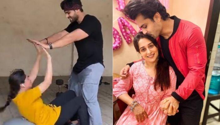 Shoaib Ibrahim Makes Wife, Dipika Kakar Do Squats And Abs Workout, Becomes Her Fitness Guru [Video]