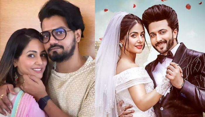 Rocky Jaiswal Roots For Hina Khan's Music Video, 'Humko Tum Mil Gaye', She Flaunts Her Bridal Avatar