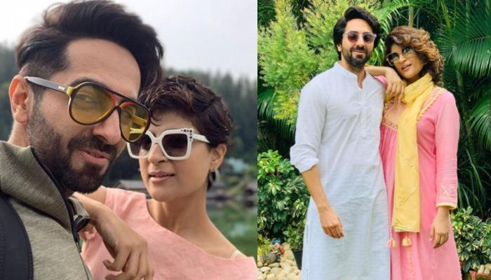 Tahira Kashyap Wishes Her 'Soulmate', Ayushmann Khurrana On His Birthday With A Cake Smashed Picture