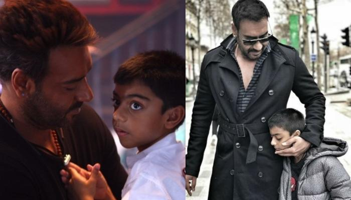 Ajay Devgn Pens An Adorable Wish For Yug's 10th Birthday, Shares Pictures Of Him Planting A Sapling