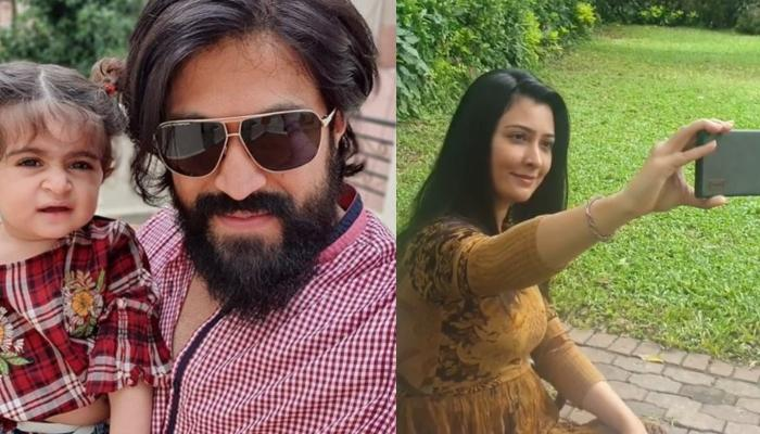 K.G.F. Star, Yash Secretly Records Wife, Radhika Pandit As She Tried Hard To Get Her Perfect Selfie