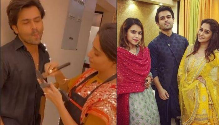 Saba Ibrahim Shares A Video Of 'Bhabhi', Dipika Kakar Doing Makeup Of Her 'Bhai', Shoaib Ibrahim