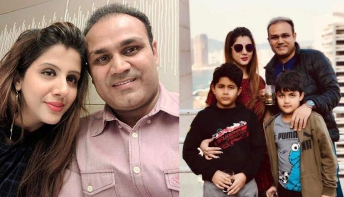 Virender Sehwag Shares Picture With His Son, Aryavir From Cockpit, Wife, Aarti Sehwag Drops Hearts
