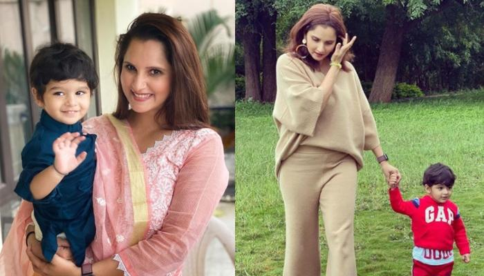 Sania Mirza Shared A Glimpse Of Her 'Perfect Mornings' With Her Little Munchkin, Izhaan Mirza Malik