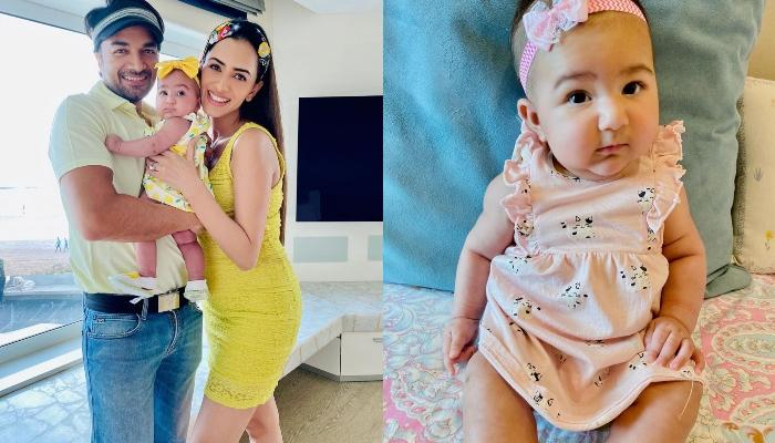 Smriti Khanna And Gautam Gupta's Little Fashionista, Anayka Gupta Turns Five Months Old