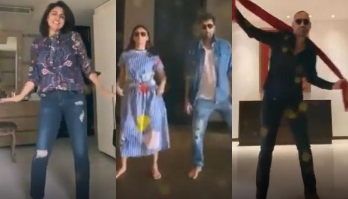 Neetu Kapoor, Ranbir Kapoor, Alia Bhatt, Bharat Sahni Dance To Surprise Riddhima Kapoor On Birthday