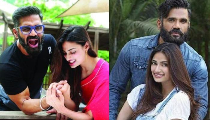 Athiya Shetty Pumping Iron With Her Daddy, Suniel Shetty Gives Us Major Fitness Goals [Photo Inside]