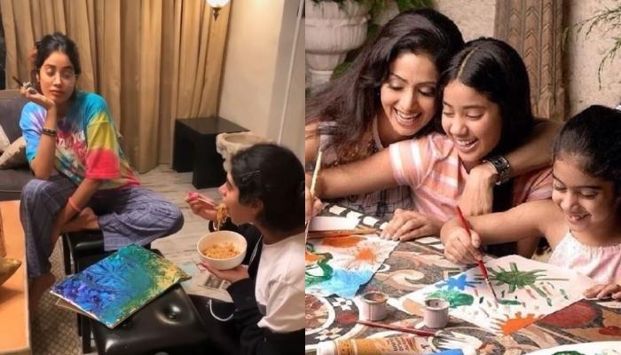 Boney Kapoor Reveals How Janhvi And Khushi Kapoor Developed Interest In Painting Because Of Sridevi