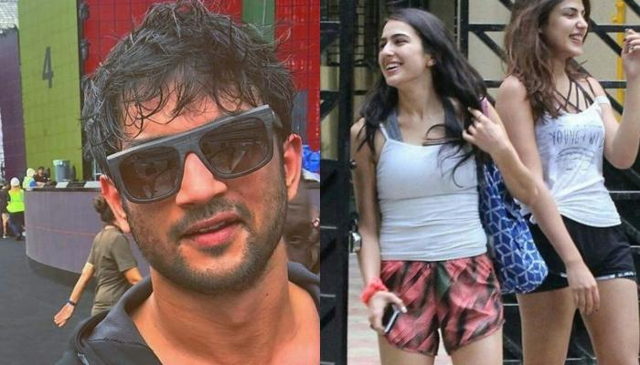 Sushant And Sara Ali Khan's Unseen Smoking Video Surfaces, As They Partied With Rhea Chakraborty