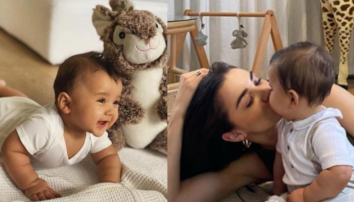 Amy Jackson Shares An Adorable Throwback Video Of Her Goofball, Andreas On His First Birthday