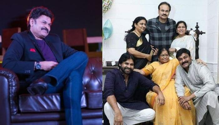 South Megastar, Chiranjeevi's Brother, Naga Babu Reveals He's COVID-19 Positive With A Strong Note