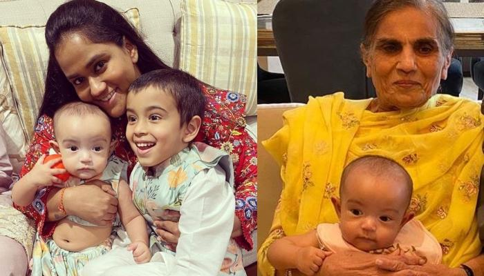 Arpita Khan, Salma Khan And Ayat Sharma's 'Three Generations In A Frame' Moment Is A Sight To Behold