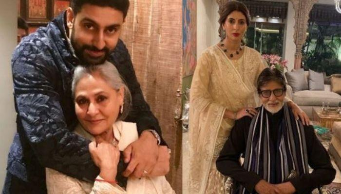Bachchan Family's Unseen Picture Where Abhishek Looked Like Jaya 'Ji' And Shweta Looked Like Big B