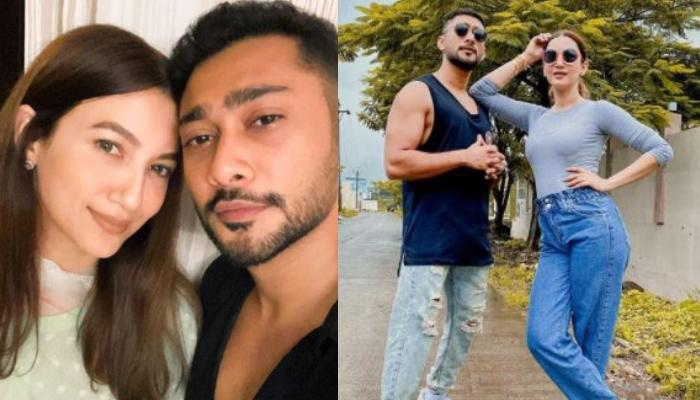 Gauahar Khan Confirms Her Relationship With Alleged Beau, Zaid Darbar With This Twinning Photo?