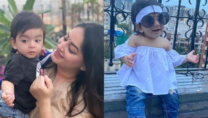 Mahhi Vij Shares Adorable Beach Pictures With Her Baby Girl, Tara From Their Goa Vacation