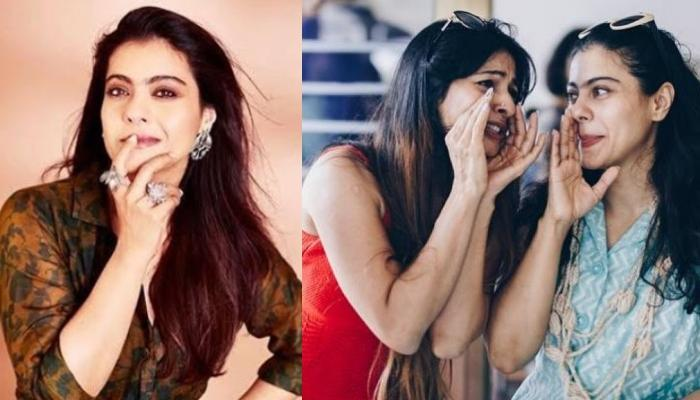 Kajol Shares A Goofy Picture With Hair Rollers, Sister, Tanishaa Mukerji Thinks She Is Too Glam