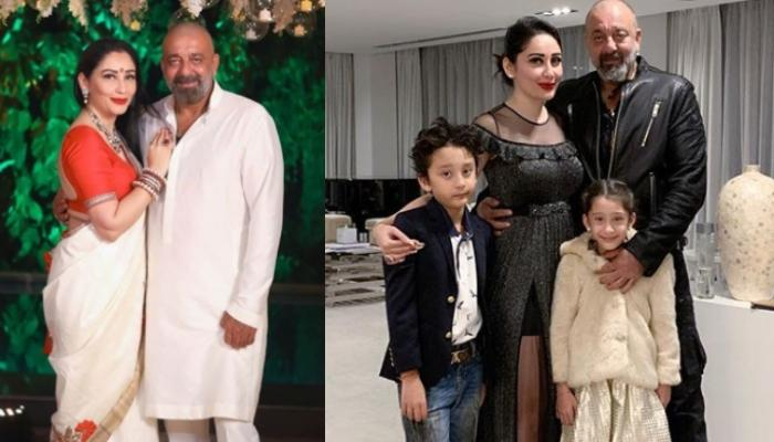 Maanayata Dutt Shares A Picture With Sanjay, Shahraan And Iqra, Feels Blessed To Have A Family