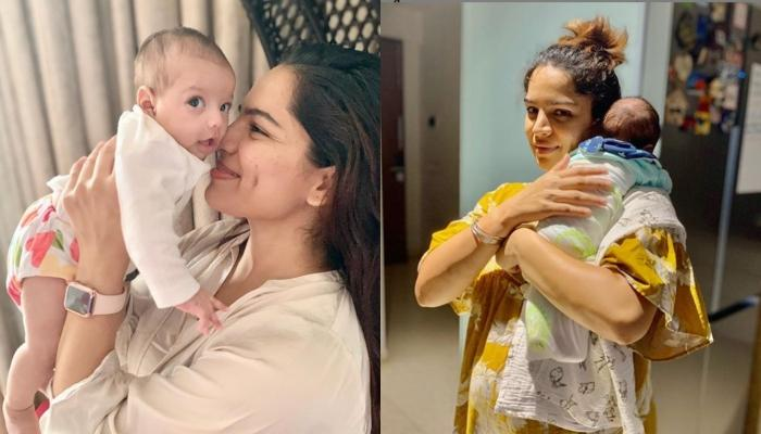 Shikha Singh Shares A Picture With Her Baby Girl, Alayna From The Day She First Met Her In Hospital
