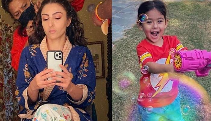 Soha Ali Khan Shares Her Daughter, Inaaya Naumi Kemmu's Super Adorable Picture In A Bath Tub