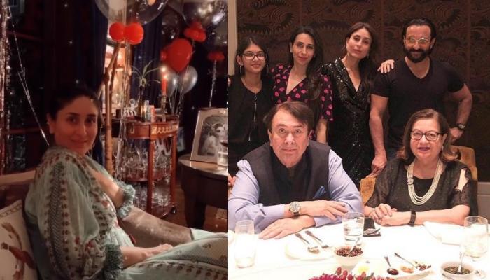 Karisma Kapoor Shares Glimpses Of Kareena's Birthday Celebrations With Randhir, Babita, And Saif