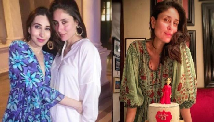 Kareena Kapoor's Birthday Cake Says, She Is A 'Super Mom', Karisma Shares Picture From Celebrations