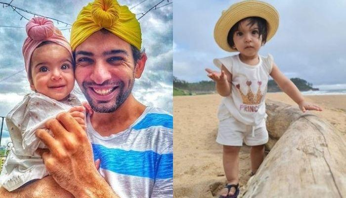 Jay Bhanushali Reacts To Daughter, Tara's 'Zid' While Recording A Video With Her On Their Vacation