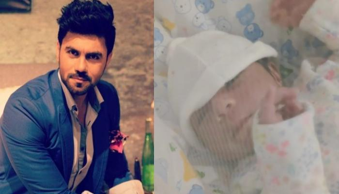 Gaurav Chopraa Shares A Glimpse Of His Baby Boy's Hiccups, Says It Brings A Million Emotions In Him