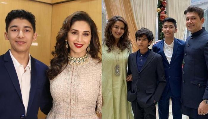 Madhuri Dixit Shares Family Photo From Their Memorable Trip, Son, Arin Looks Like A Hardcore Rapper