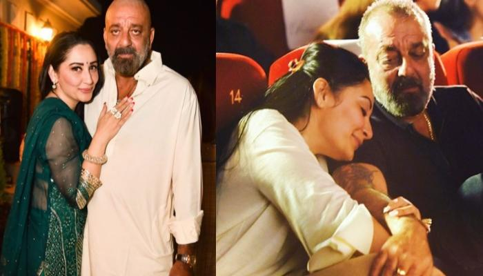 Maanayata Dutt Shares A Lovely Picture With Sanjay Dutt, Pens A Positive Note On 'Walking Together'