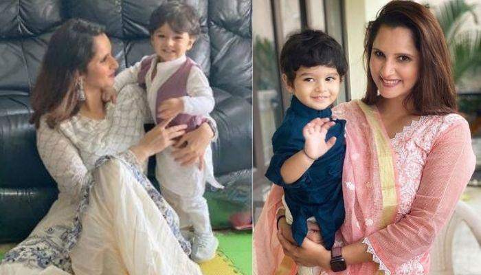 'Amma' Sania Mirza Teaches Son, Izhaan Mirza Malik To Offer 'Namaz' In This Rare Unseen Photo