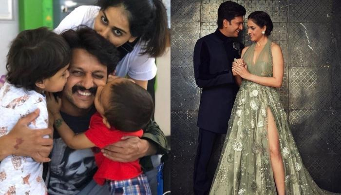 Genelia Deshmukh Says Kids Lead The Parents, Shares A Beautiful Click Of Husband, Riteish With Kids