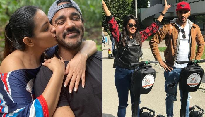 Anita Hassanandani Shares A 'Shayari' For Hubby, Rohit As He Gives Her A 'Phool' For His 'Bhool'