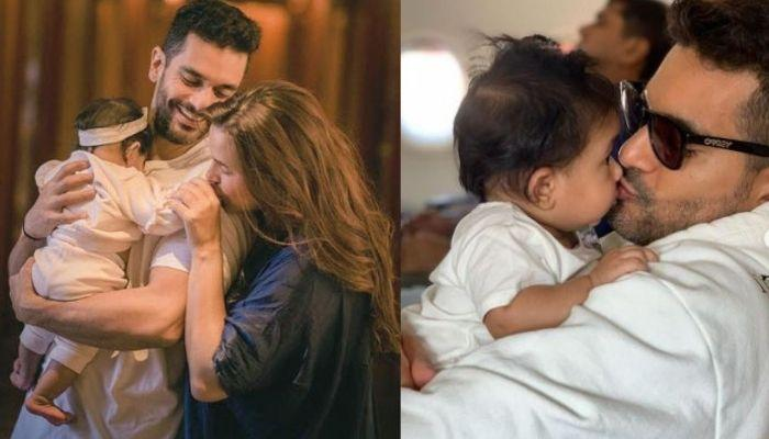 Neha Dhupia's Daughter, Mehr Leaves Home In Search Of Mickey, Daddy, Angad Comes To Her Rescue