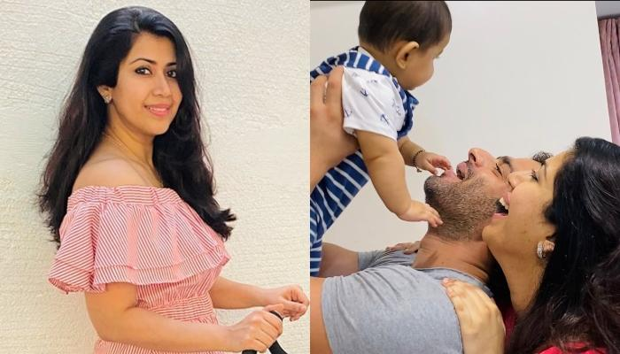 Ankita Bhargava Shares A Cute Picture With Hubby, Karan Patel Playing With Their Little Girl, Mehr