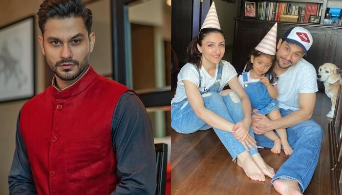 Inaaya Naumi Kemmu Looks Adorable As She Hugs Her Daddy Dearest, Kunal Kemmu In This Picture