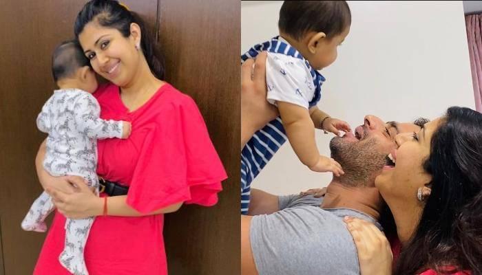 अंकिता भार्गव ने शेयर की बेटी मेहर की क्यूट तस्वीर, बिटिया रानी संग खेलते नजर आए पिता करण पटेल