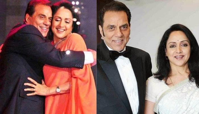 Hema Malini And Dharmendra's Unseen Wedding Picture In 'Jaimala', Hema 'Ji' Looked Super Happy