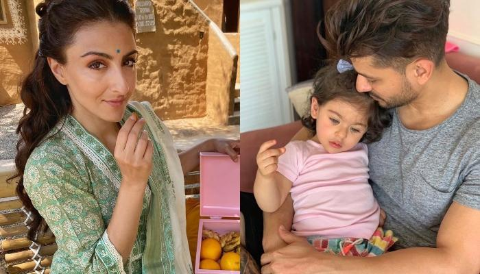Soha Ali Khan Records Kunal Kemmu And Inaaya's Emotional Moment When She Reunites With Her Daddy